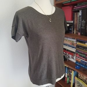 Gap Olive Short Sleeve Sweater S